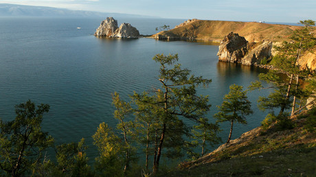 The Burkhan cape of the Olkhon Island at the Baikal Lake, Eastern Siberia. © Ilya Naymushin