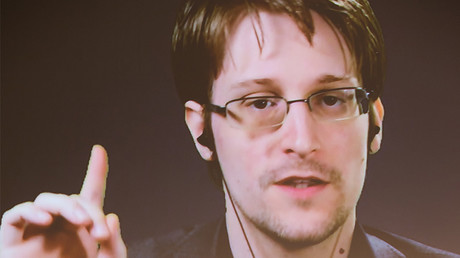 Edward Snowden © Friso Gentsch / Global Look Press