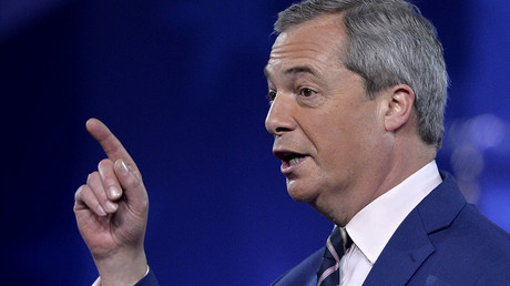Former UKIP leader Nigel Farage. © Mike Theiler