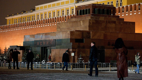 Lenin's Mausoleum at the Red Square, Moscow © Evgeny Samarin