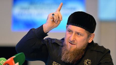 Ramzan Kadyrov, the head of the Chechen Republic. ©Said Tzarnaev