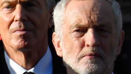 Blair and Corbyn clash after ex-Labour PM suggests voters back Tories to get a soft Brexit