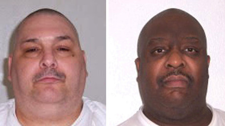 Jack Jones (L) and Marcel Williams. © Arkansas Department of Corrections