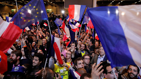 'Emmanuel Macron, a creation of French media & finance, now faces a real campaign'
