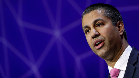 Ajit Pai, Chairman of U.S Federal Communications Commission © Eric Gaillard