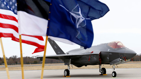 US F-35 fighters arrive in Estonia amid NATO buildup