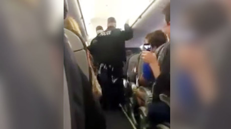 United Airlines viral video victim caused own injuries with 'flailing arms' - Police