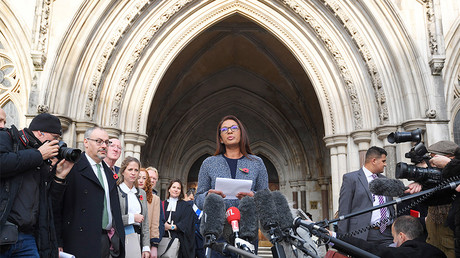 FILE PHOTO: Gina Miller speaks outside the High Court, London © Toby Melville