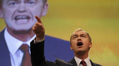 Britain's Liberal Democrat party leader, Tim Farron © Peter Nicholls