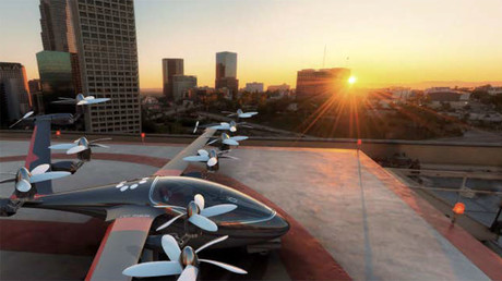Cloud-surfing cabs: Uber CEO sees flying cars within next decade