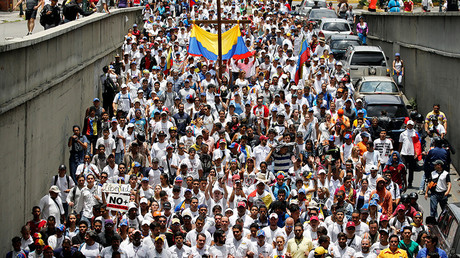 Venezuela to leave 'interventionist' OAS group amid deadly anti-govt protests