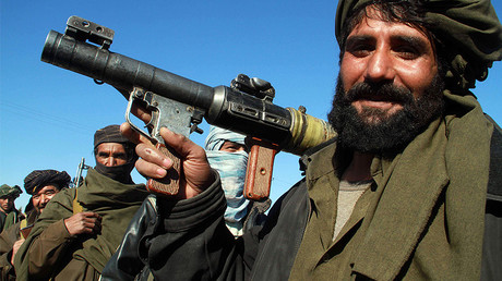 FILE PHOTO: A Taliban militant © Mohammad Shoib