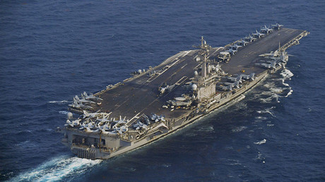 The Nimitz-class US Navy aircraft carrier USS Carl Vinson © Reuters