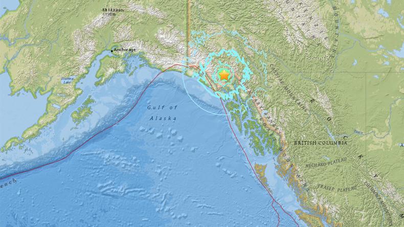 Magnitude 6.2 earthquake strikes remote region of Alaska