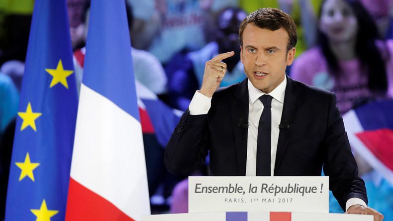 Macron jumps on Frexit bandwagon 'because EU so unfashionable among French'