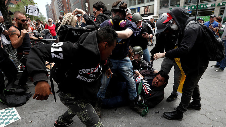 At least 14 arrested during May Day rally in New York