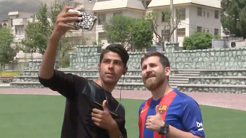 Lionel Messi's doppelganger found in Iran (POLL & VIDEO)
