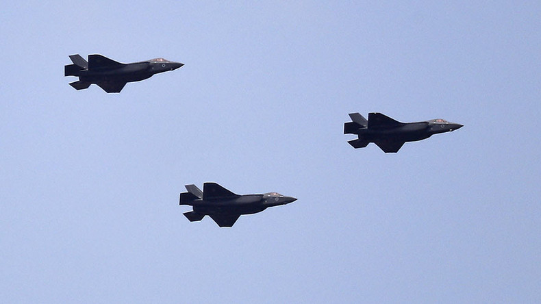 F-35 fighter jets debut at Israel's Independence Day air ...