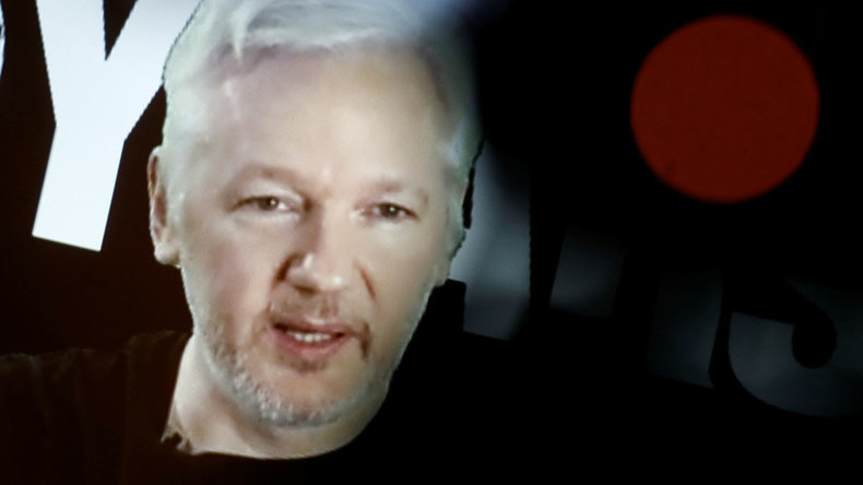 Assange brands Clinton 'butcher of Libya' & requests Sweden scrap detention order