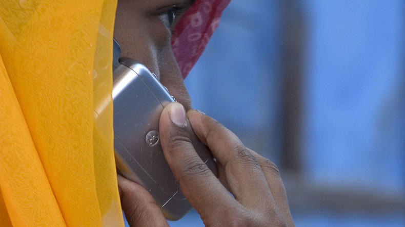 Indian village bans women from using mobile phones outside homes