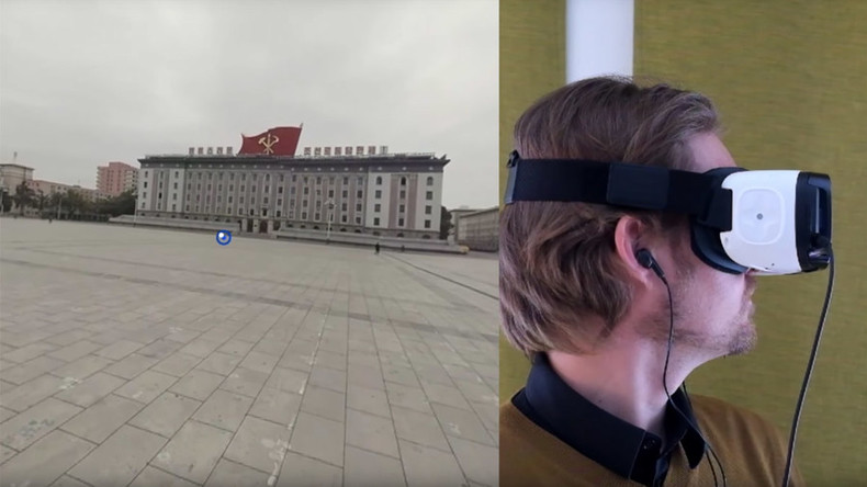Pyongyang VR tour provides rare insight into life in North Korea's capital (VIDEO)