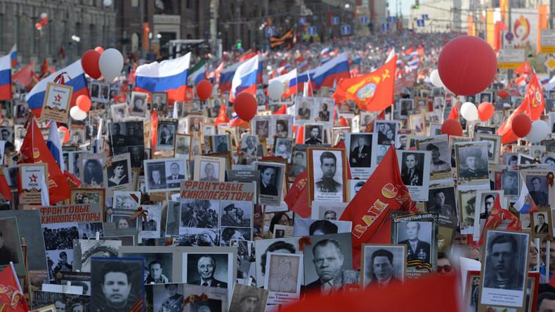 Russians approve of 'Immortal Regiment' memorial act, poll shows