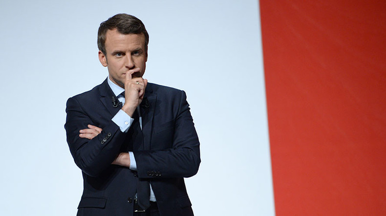 Emails & docs from France's Macron campaign leaked after 'massive' hacking attack