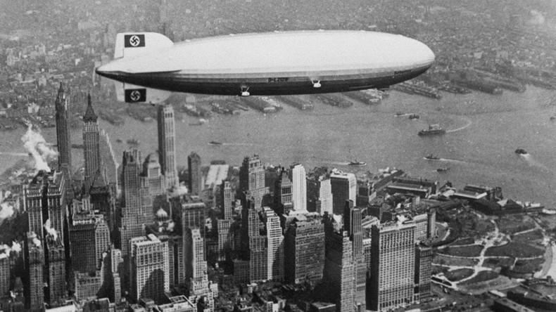 80yrs on: Hindenburg disaster theories detailed in declassified FBI records (VIDEO, PHOTOS)