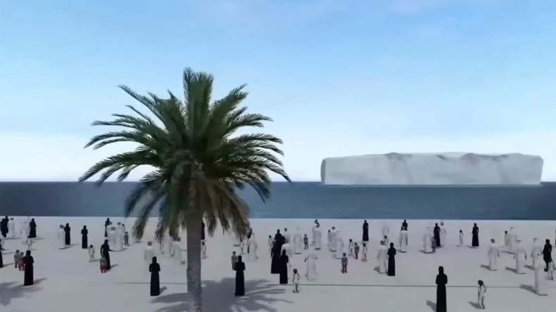 UAE to secure freshwater future with bizarre plan to bring iceberg from Antarctica (VIDEO)