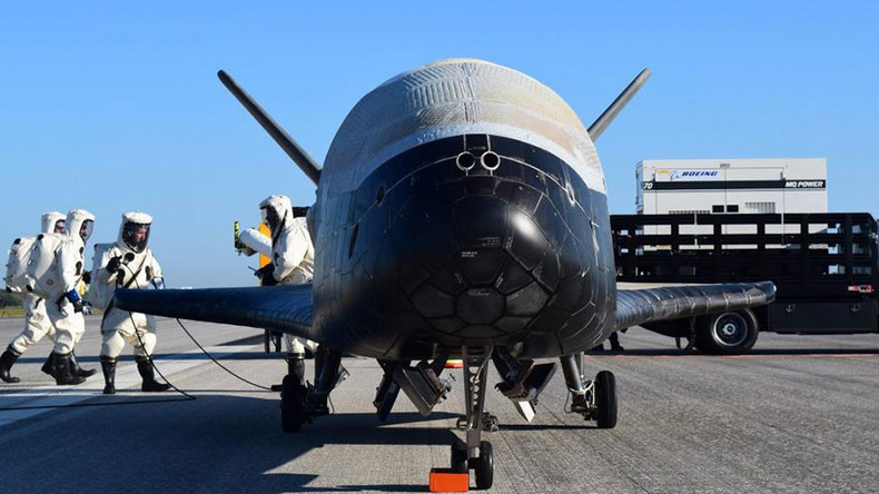 '718 days in space': Secretive US X-37B plane said to break record as it lands in Florida
