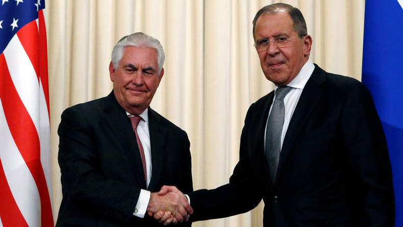 Lavrov to meet Tillerson in Washington to talk Syria & Ukraine on May 10