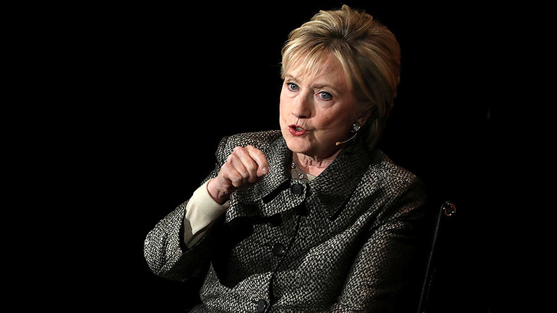 Hillary Clinton hails Macron victory, takes aim at media