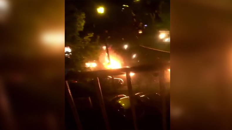 3rd night of violence in Paris suburb over teen's death in traffic accident (VIDEO)