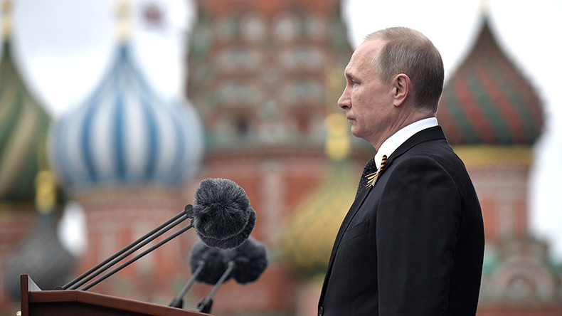 Putin says WW2 started due to disunity of world's leading countries, calls on world to unite