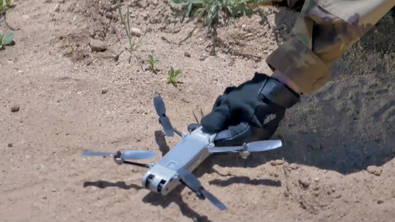 First 'tactical overwatch' mini-drones delivered to US troops (VIDEO)