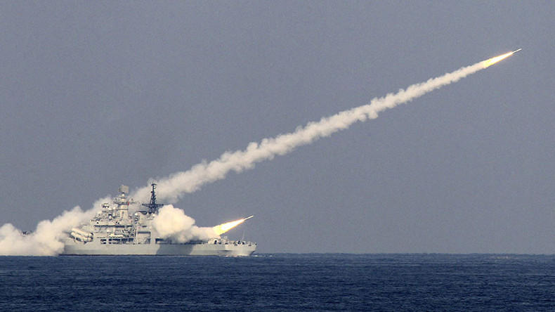 China tests new missile near Korean peninsula
