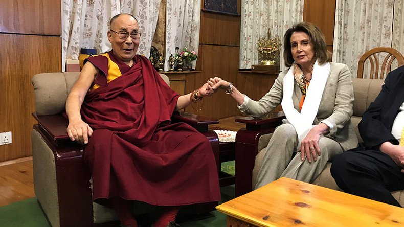 US lawmakers meet Dalai Lama amid Trump shift to better US-China relations