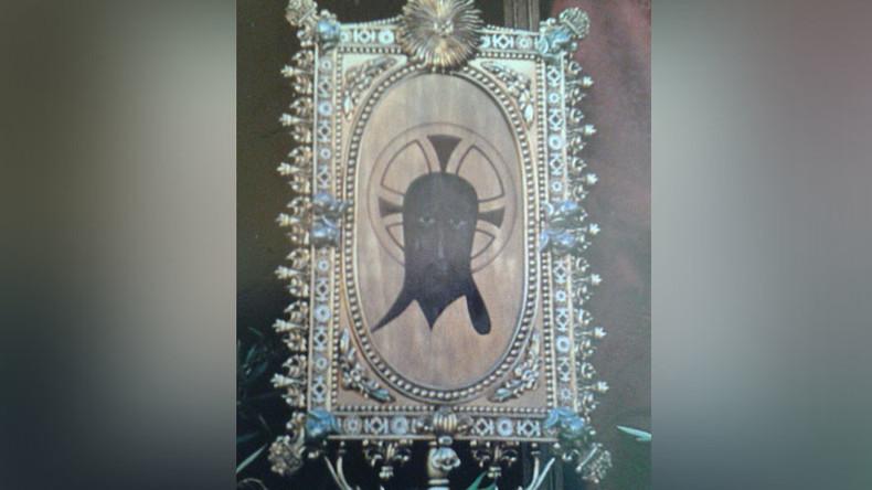 Teenage 'devil worshipper' desecrates veil 'touched by Jesus'