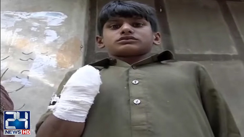 Pakistani teen 'has hand chopped off' for demanding salary (VIDEO)