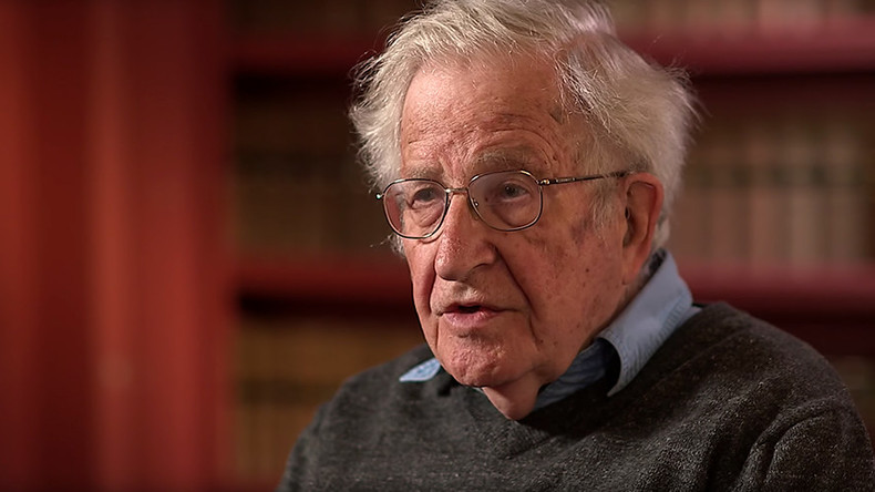 'Trump's only ideology is 'me', deeply authoritarian & very dangerous' – Noam Chomsky