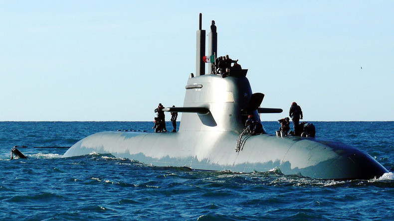 Italian submarine collides with cargo ship off Calabria coast - navy