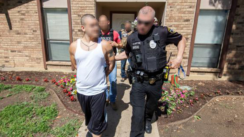 ICE arrests nearly 1,400 in its 'largest gang surge' ever