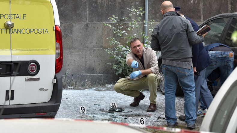 Explosion hits central Rome, timer-equipped device planted by 'competent' person (PHOTOS)