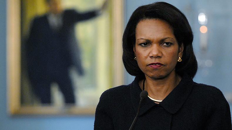'We went to Iraq to overthrow Saddam, not bring democracy' – ex-State Secretary Condoleezza Rice