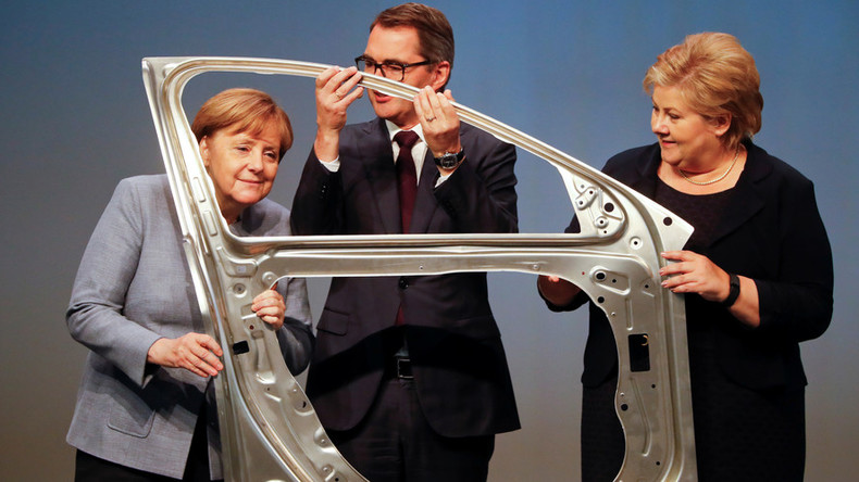 German economic growth picks up speed, outpaces US