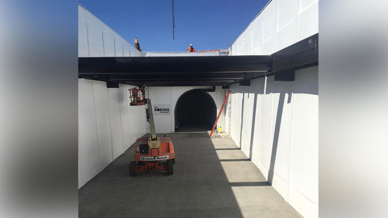 Tunnel vision: Elon Musk gives sneak peek of hyperspeed LA underpass (PHOTOS, VIDEO)