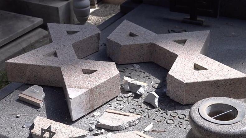Vandals smash 70 Catholic & Jewish headstones in Rome's landmark cemetery (VIDEO, PHOTOS)