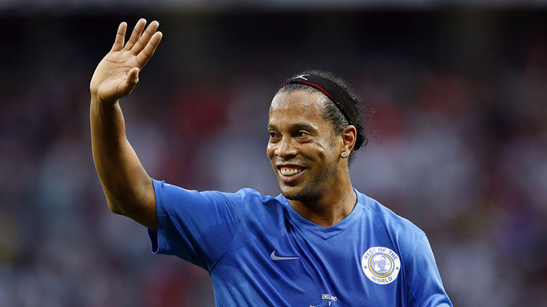 Ronaldinho expects footballers to be 'inspired' at FIFA 2017 Confederations Cup in Russia