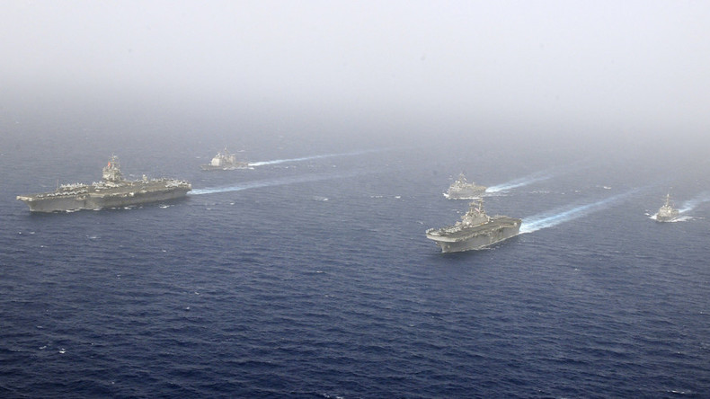 US Navy chief wants larger fleet to counter global powers like Russia & China