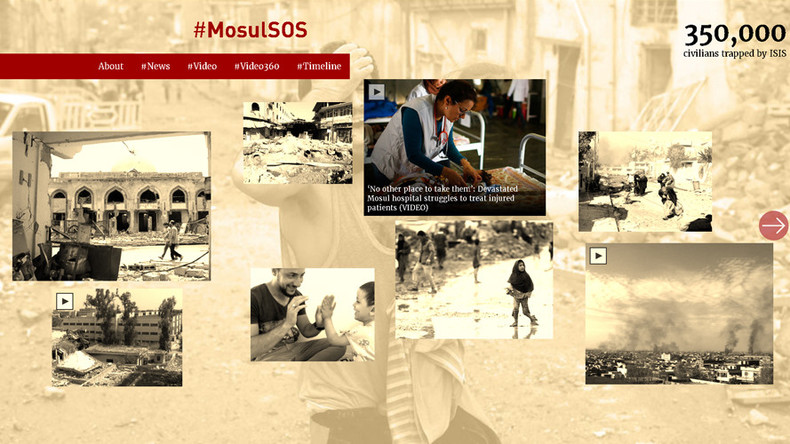 #MosulSOS: Civilians become collateral damage in US coalition anti-ISIS strikes